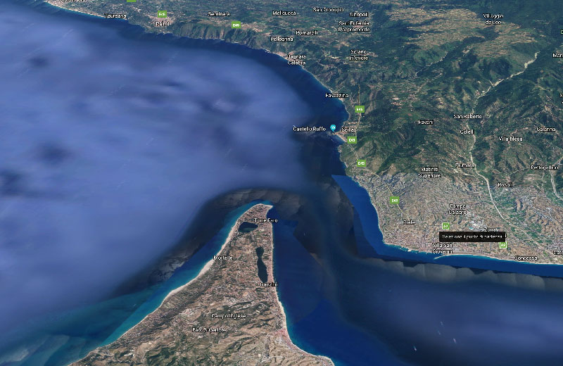 Insieme oltre le onde traversata dello stretto di Messina