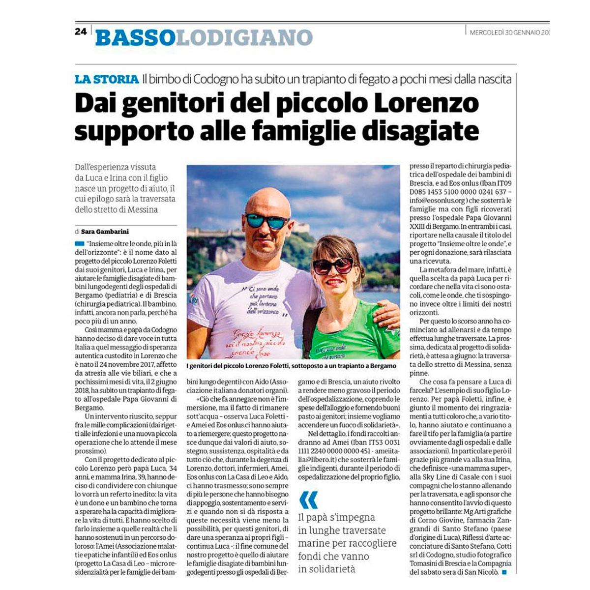 Insieme-oltre-le-onde-Basso-Lodigiano-articolo-rassegna-stampa-2019